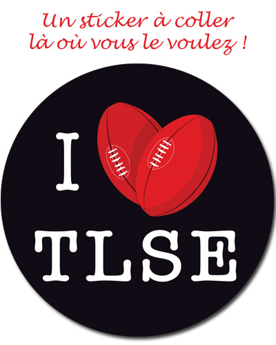 Sticker Toulouse Rugby