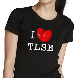 T-shirt F I love TLSE (Box)